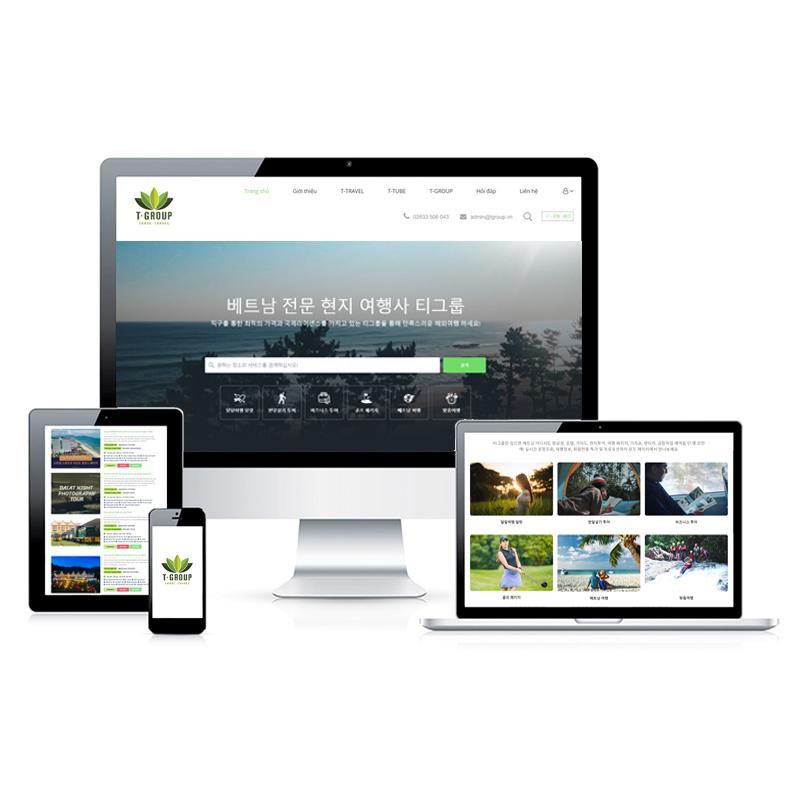 Website Du lịch KR.TGROUP.VN